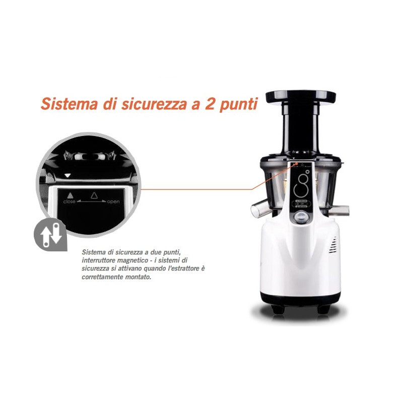 Estrattore Slow Juicer Panasonic : Estrattore di succo Kuvings Whole Slow Juicer