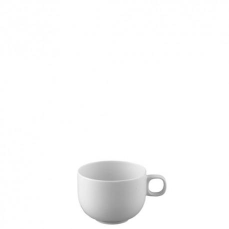 Tazza caffe con piatto Rosenthal moon bianco