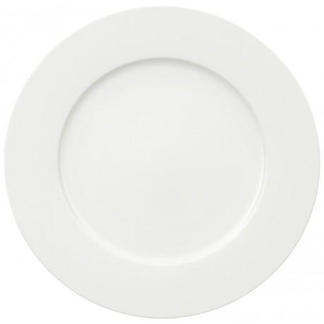 Piatto Segnaposto Villeroy & boch royal bianco cm 30