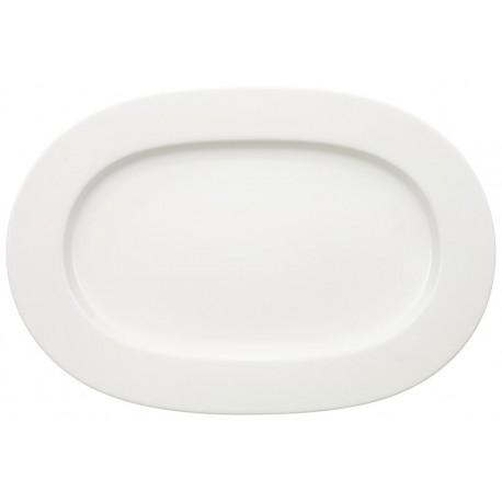 Piatto ovale Villeroy & boch Royal bianco cm 41