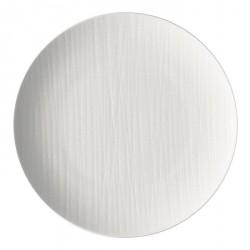 Piatto piano Rosenthal Mesh Bianco 27 cm