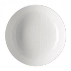 Piatto fondo Rosenthal Mesh Bianco 21 cm