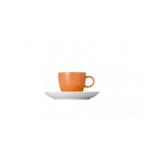 Tazza caffè con piattino colorata Thomas Sunny Day colours