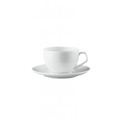 Tazza caffe' con piatto Rosenthal tac bianco studio line