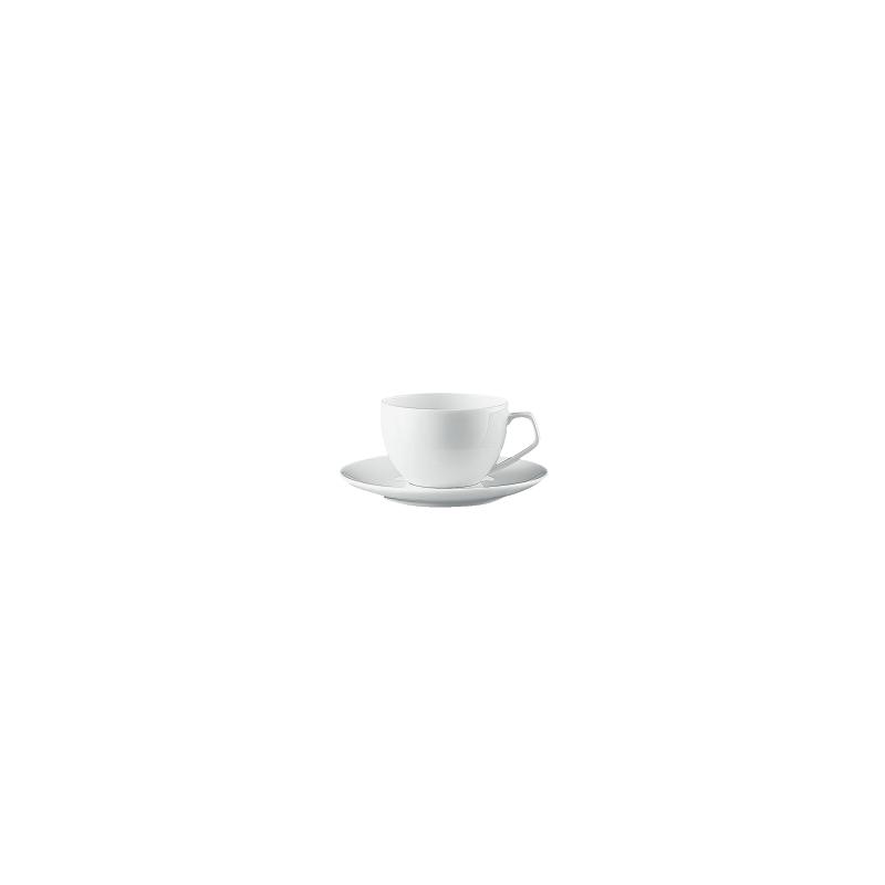 tazza caffe 39 con piatto rosenthal tac bianco studio line. Black Bedroom Furniture Sets. Home Design Ideas