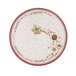 Piatto frutta Villeroy & Boch Winter Bakery delight cm 23,5