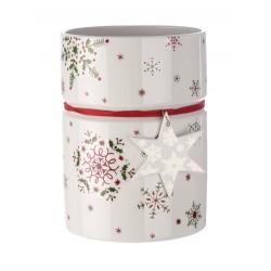 Vaso largo Villeroy & Boch New Modern Christmas cm 18