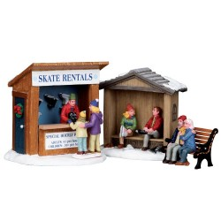 Lemax Skate rentals natale set of 3