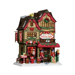 Lemax deck the halls christmas shop