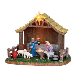 Lemax Nativity scene