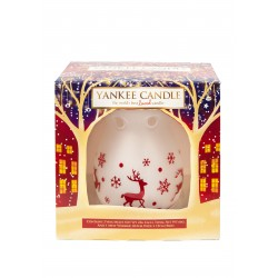 Yankee Candle Christmas Melt Warmer set regalo