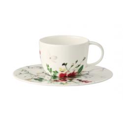 Tazza caffe' con piatto Rosenthal Brillance Fleurs Sauvages