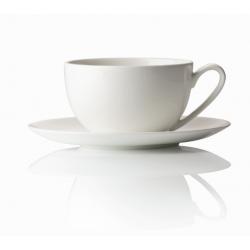 Tazza espresso Rosenthal Jade bianco con piatto