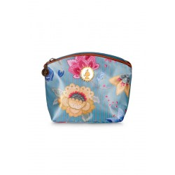 Beauty case Pip Studio Cosmetic bag Fantasy & Bloomingtales small - blue