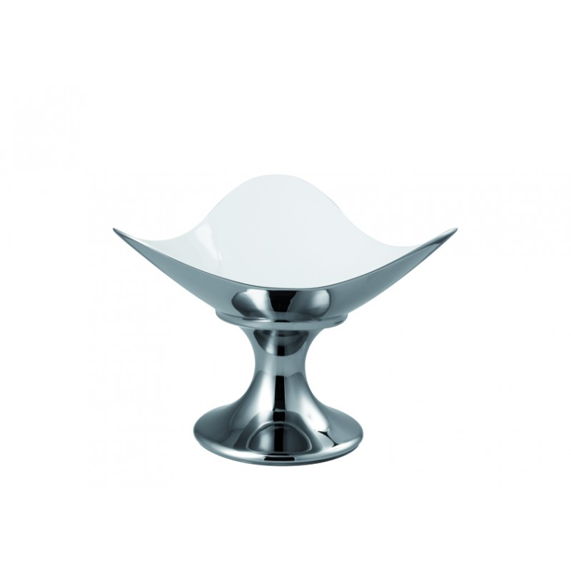 coppa rosenthal free spirit platino titanizzato cm 32. Black Bedroom Furniture Sets. Home Design Ideas