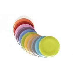 Piatto piano colorato Giannini colours cm 27