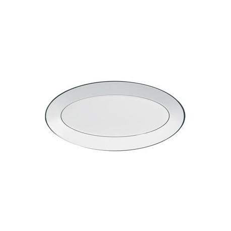 Piatto ovale Wedgwood Jasper Conran Platinum 39 cm