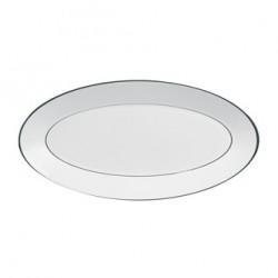 Piatto ovale Wedgwood Jasper Conran Platinum 45 cm
