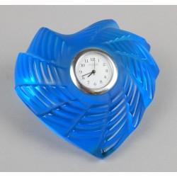 Cuore blu Lalique in cristallo cm 10