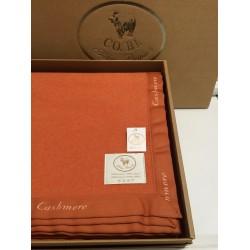 Coperta singola in pure cashmere e pura lana CO.BI Miky 400 gr
