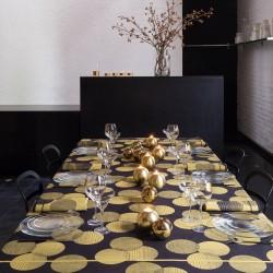 Tovaglia Le Jaquard Francais Paillettes Gold rettangolare