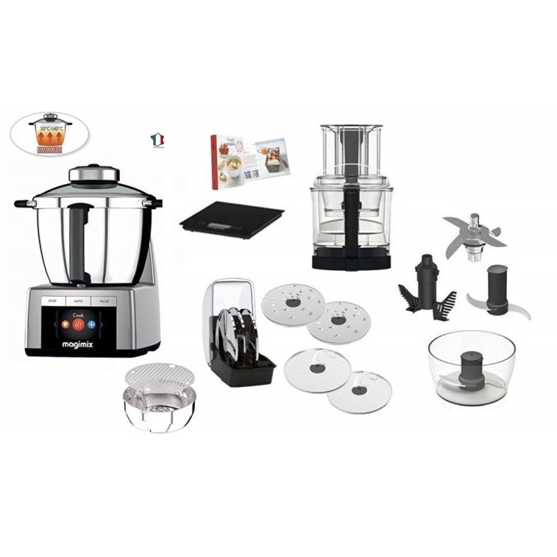 Cook expert magimix grigio robot con cottura - Robot da cucina con cottura ...