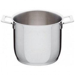 Pentola Alessi Pots&Pans alta in acciaio