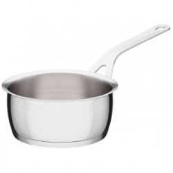 Casseruola Alessi Pots&Pans in acciaio a manico lungo