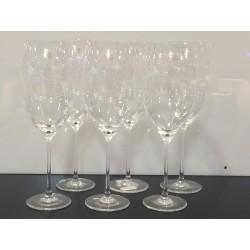 Set 6 calici in cristallo Richard Ginori una tavola per due