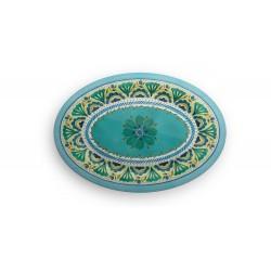 Vassoio ovale in melanina Touch Mel London Emporio Zani cm 51