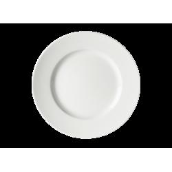 Piatto piano Richard Ginori Impero bianco cm 22
