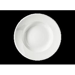 Piatto fondo Richard Ginori Impero bianco cm 24,5