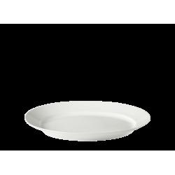 Vassoio ovale Richard Ginori Impero bianco cm 34