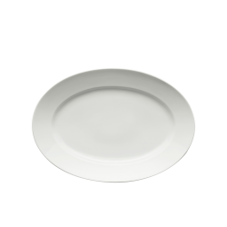 Vassoio ovale Richard Ginori Impero bianco cm 40