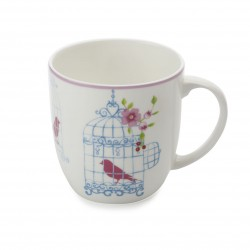Tazza Mug Maxwell & Williams Cashmere aviary bianca