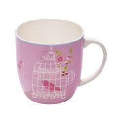 Tazza Mug Maxwell & Williams Cashmere aviary rosa