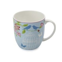 Tazza Mug Maxwell & Williams Cashmere aviary azzurro