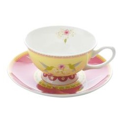 Tazza te con piatto Maxwell Williams Cashmere Enchante antoninette