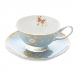 Tazza te' con piatto Maxwell & Williams Cashmere Enchante Veronique