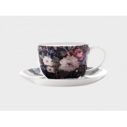 Tazza te' con piatto Maxwell & Williams cashmere midnight blossom