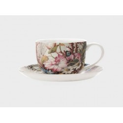 Tazza te' con piatto Maxwell & Williams cashmere cottage blossom
