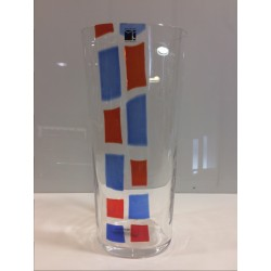Vaso in vetro soffiato Carlo Moretti I diversi