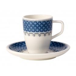 Tazza espresso con piatto Casale Blu Villeroy & Boch