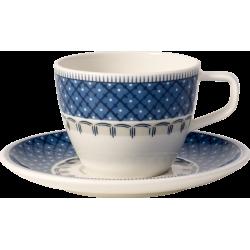 Tazza caffe con piatto Casale Blu Villeroy & Boch