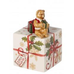 Pacchetto regalo con Teddy carillon Villeroy & Boch Nostalgic melody