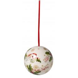 Palla sfera lettere per babbo natale Villeroy & Boch Christmas balls