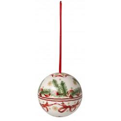 Palla sfera ramo abete Villeroy & Boch Christmas balls