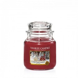 Candela Yankee Candle Christmas Magic Giara piccola