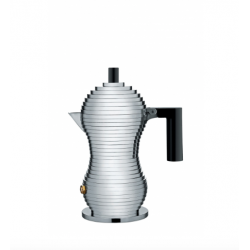 Caffettiera espresso Pulcina Alessi 1 tazza nera
