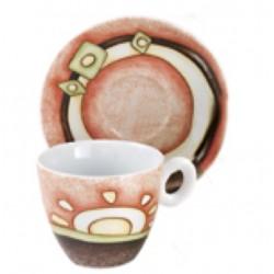 Tazze caffè Egan Simboli, Confezione 6 tazze